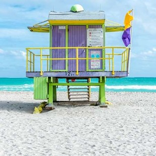 Miami Beach VIII Digital Print by Silver, Richard,Decorative