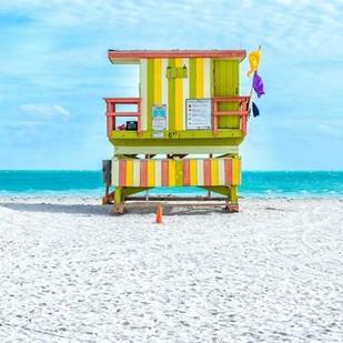 Miami Beach IX Digital Print by Silver, Richard,Decorative