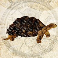 Steam Punk Turtle II Digital Print by Ilosky, Pam,Decorative