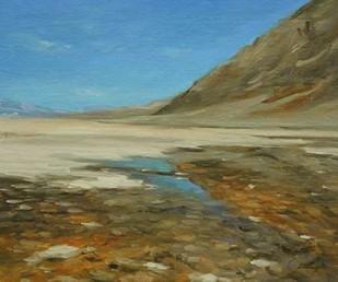 Badwater Basin, Death Valley Digital Print by Larivey, Chuck,Impressionism