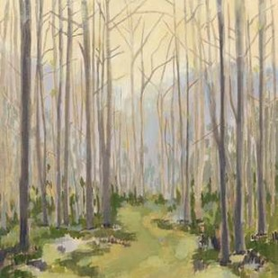 Delicate Forest I Digital Print by Meagher, Megan,Impressionism