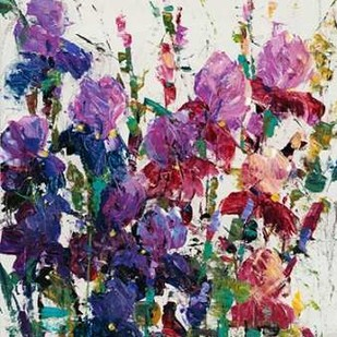 Iris Blooming II Digital Print by OToole, Tim,Impressionism