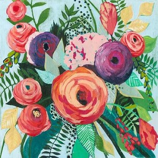 Halcyon Bouquet II Digital Print by Popp, Grace,Decorative