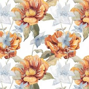 Ebbing Peonies II Digital Print by Popp, Grace,Decorative