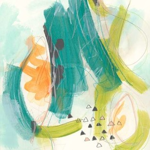 Skipping Stones II Digital Print by Vess, June Erica,Abstract