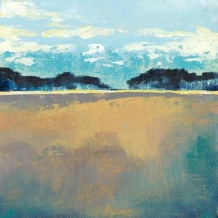 Aureate Seascape II Digital Print by Popp, Grace,Impressionism