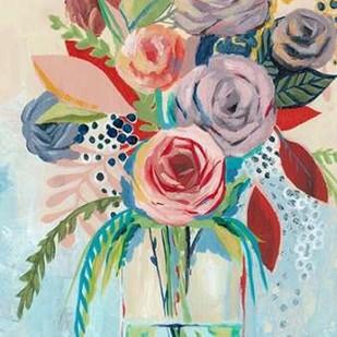 Roseate Posy I Digital Print by Popp, Grace,Decorative