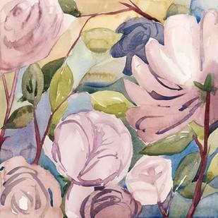 Lumiere Rosier I Digital Print by Popp, Grace,Impressionism