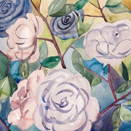Lumiere Rosier III Digital Print by Popp, Grace,Impressionism