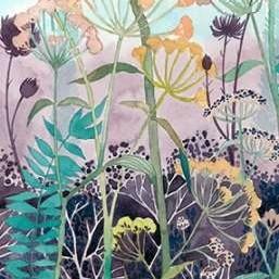 Illuminated Wildflowers I Digital Print by Popp, Grace,Decorative