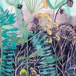 Illuminated Wildflowers II Digital Print by Popp, Grace,Decorative