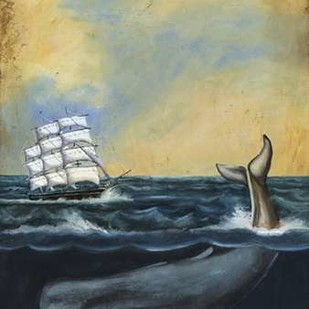 Whaling Stories I Digital Print by McCavitt, Naomi,Decorative