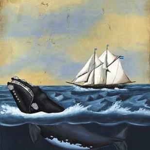 Whaling Stories II Digital Print by McCavitt, Naomi,Decorative