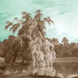 Serene Trees V Digital Print by Kennion, Edward,Realism