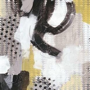 Tonal Gesture II Digital Print by Vess, June Erica,Abstract