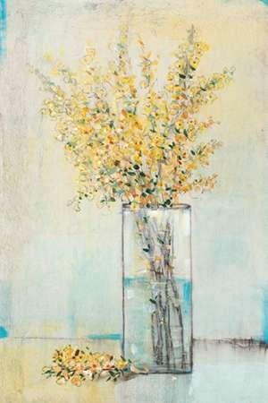 Yellow Spray in Vase I Digital Print by OToole, Tim,Impressionism