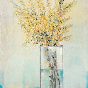 Yellow Spray in Vase I Digital Print by OToole, Tim,Impressionism