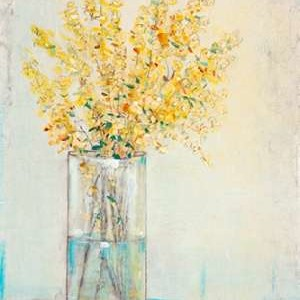 Yellow Spray in Vase II Digital Print by OToole, Tim,Impressionism