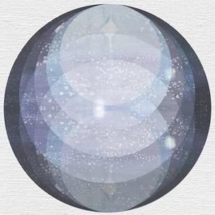 Night Circles Digital Print by McCavitt, Naomi,Geometrical
