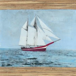 Seagrass Nautical I Digital Print by McCavitt, Naomi,Decorative