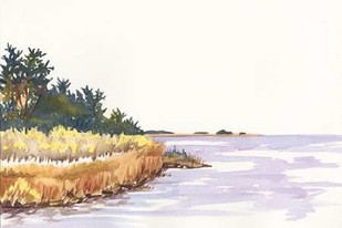 Solitary Coastline IV Digital Print by Miller, Dianne,Impressionism