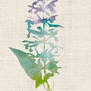 Watercolor Plants I Digital Print by McCavitt, Naomi,Decorative