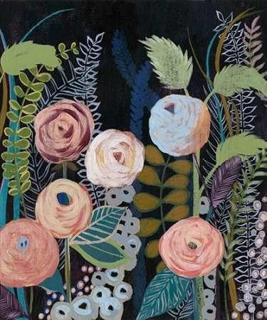 Diverging Blooms I Digital Print by Popp, Grace,Decorative