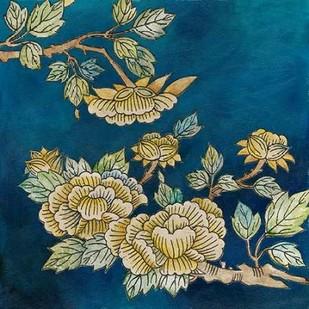 Eastern Floral II Digital Print by Meagher, Megan,Decorative