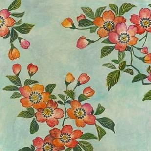 Eastern Blossoms I Digital Print by Meagher, Megan,Decorative