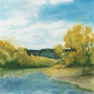 River Sketch II Digital Print by Meagher, Megan,Impressionism