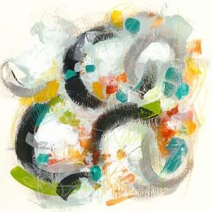 Circular Energy I Digital Print by Vess, June Erica,Abstract