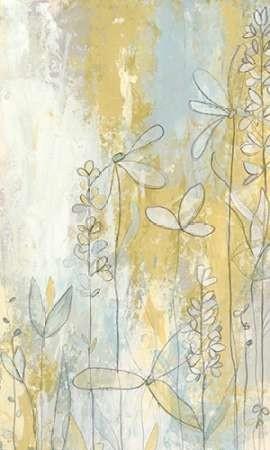 Meadow Fresco Ii By Artist Vess June Erica Decorative Painting