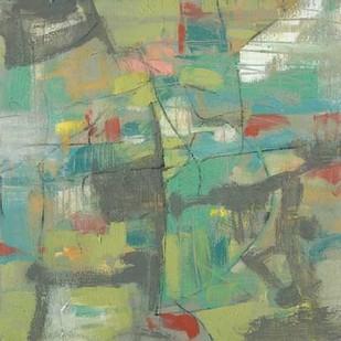 Kinetic Pastel I Digital Print by Goldberger, Jennifer,Abstract