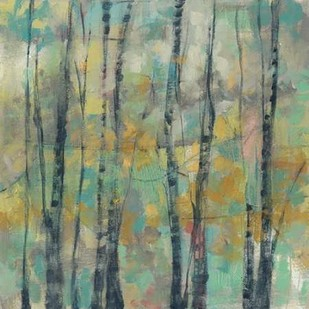 Pastel Arbor II Digital Print by Goldberger, Jennifer,Impressionism