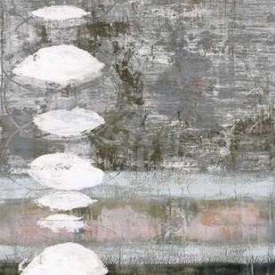 White Orbs II Digital Print by Goldberger, Jennifer,Abstract