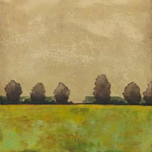 Treeline in the Field I Digital Print by Altug, Mehmet,Impressionism
