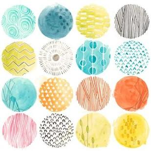 Pattern Pop I Digital Print by Vess, June Erica,Decorative