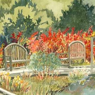 Aquarelle Garden I Digital Print by Miller, Dianne,Impressionism