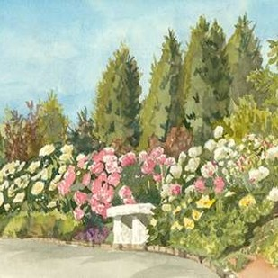 Aquarelle Garden III Digital Print by Miller, Dianne,Impressionism