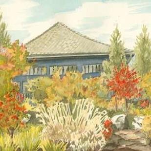 Aquarelle Garden VI Digital Print by Miller, Dianne,Impressionism