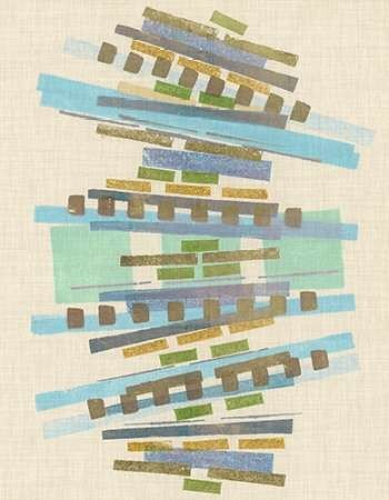 Balancing IV Digital Print by Galapon, Nikki,Abstract