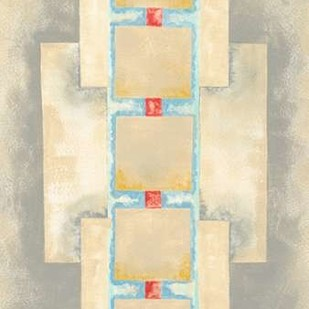 Squares in Line II Digital Print by Galapon, Nikki,Decorative