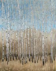 Dusty Blue Birches I Digital Print by OToole, Tim,Impressionism