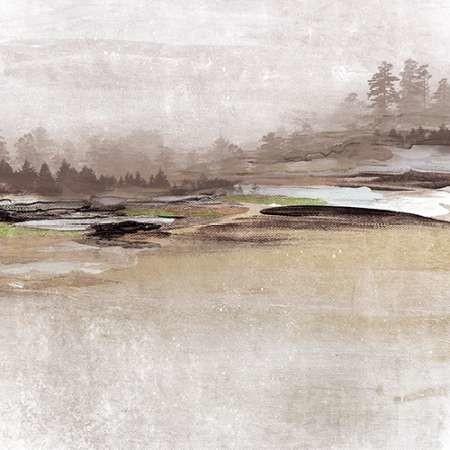 Forest Glimpse I Digital Print by Orlov, Irena,Impressionism
