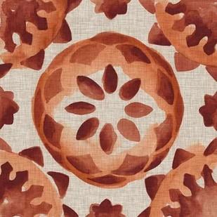 Elemental Tiles IV Digital Print by Zarris, Chariklia,Decorative
