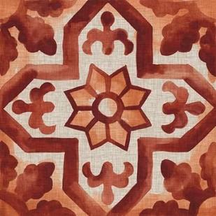 Elemental Tiles V Digital Print by Zarris, Chariklia,Decorative