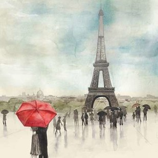 Rainy Day Lovers I Digital Print by Popp, Grace,Impressionism