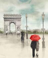 Rainy Day Lovers II Digital Print by Popp, Grace,Impressionism