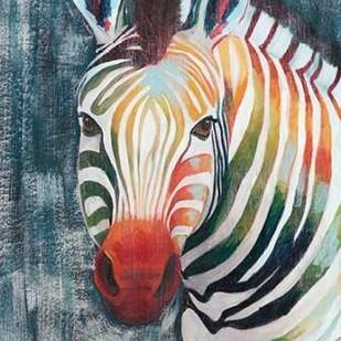 Prism Zebra II Digital Print by Popp, Grace,Decorative
