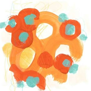 Bright Idea II Digital Print by Vess, June Erica,Abstract